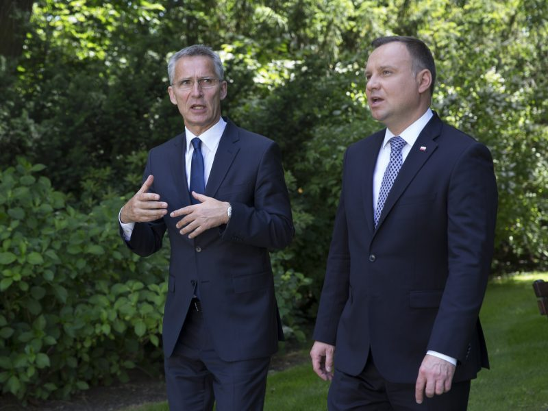 NATO, Polska, Jens Stoltenberg, Andrzej Duda