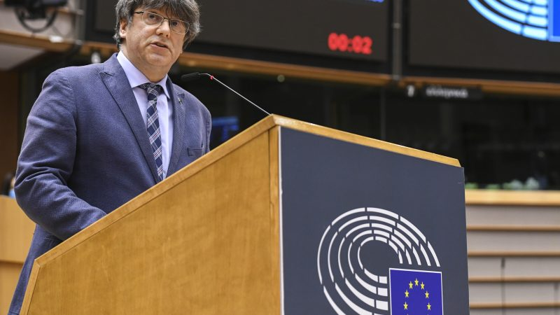 Katalonia, Puigdemont, Ponsanti, Comin, Parlament Europejski, wolnośc słowa, referendum, Hiszpania, Gonzalez Laya, Madryt, Sąd