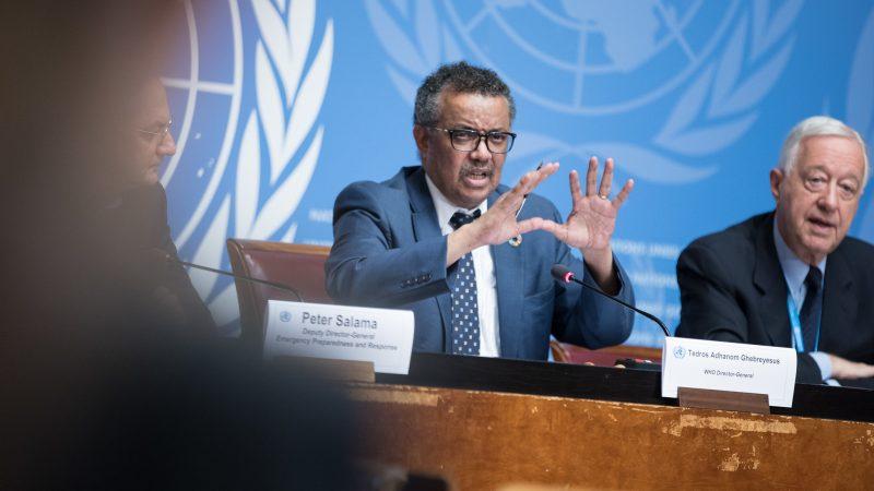 Dyrektor generalny WHO dr Tedros Adhanom Ghebreyesus, źródło: Flickr/UN Geneva/UN Photo, fot. Elma Okic (CC BY-NC-ND 2.0)