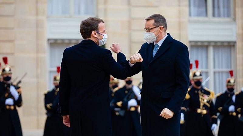 Polska, Francja, Macron, Morawiecki