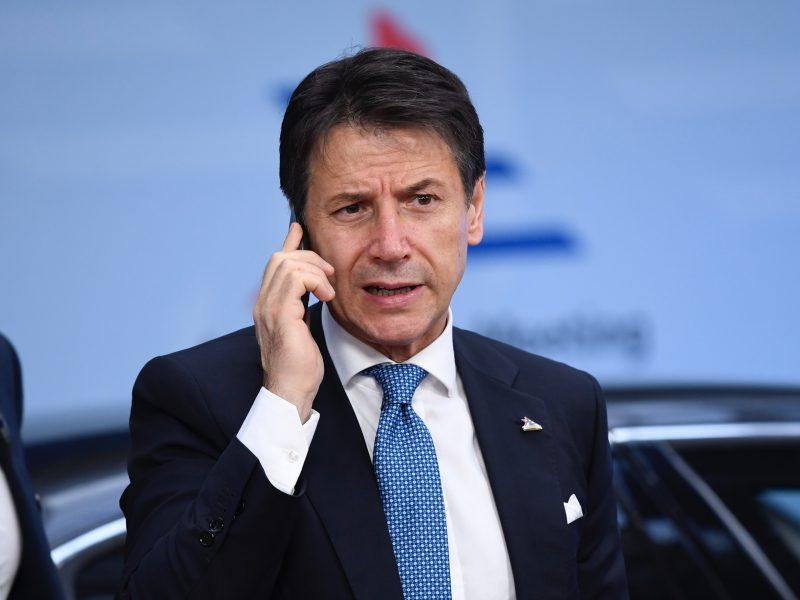 Giuseppe Conte, Włochy, były premier