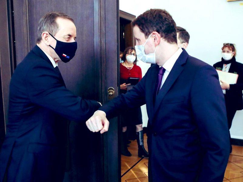 Tomasz Grodzki, Clement Beaune, Senat, Francja
