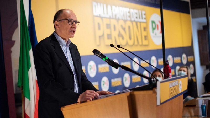 Enrico Letta, Włochy, Partia Demokratyczna
