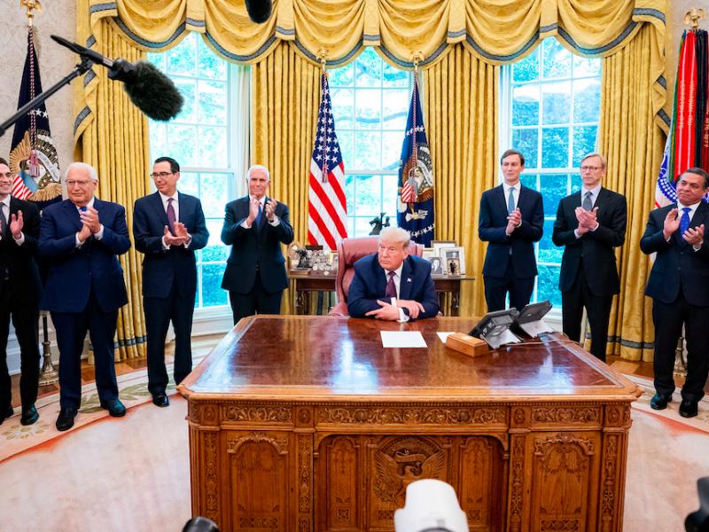 Jak potoczyły siędalsze kariery najbliższych współpracowników Donalda Trumpa w Białym Domu?, źródło: Flickr/Trump White House Archived, fot. Tia Dufour (Public Domain Mark 1.0)