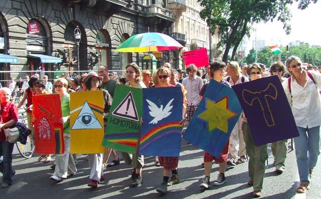 Parada Równości w Budapeszcie, źródło: Wikipedia, fot. Jutka Kovacs (CC BY 3.0)