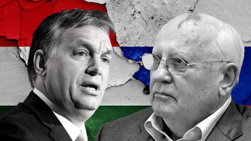 Rosja, Węgry, Orban, Gorbaczow