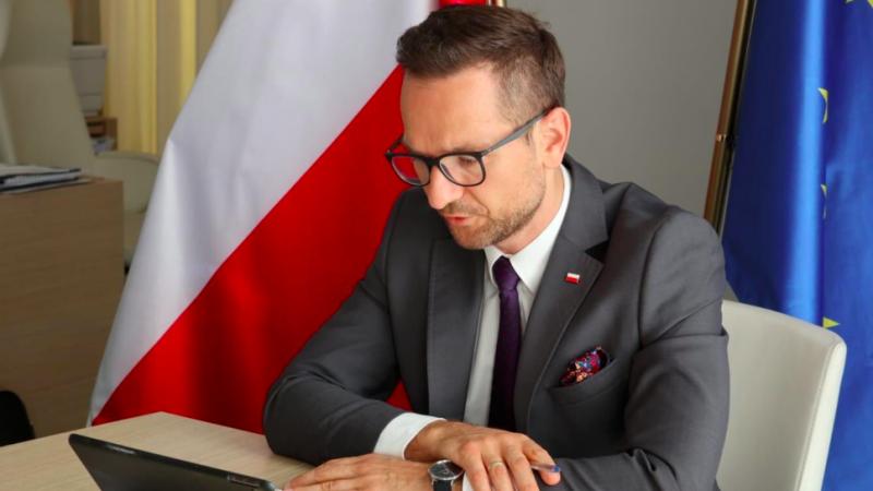 Wiceminister funduszy i polityki regionalnej Waldemar Buda, źródło: Twitter/aldemar Buda (@waldemar_buda)