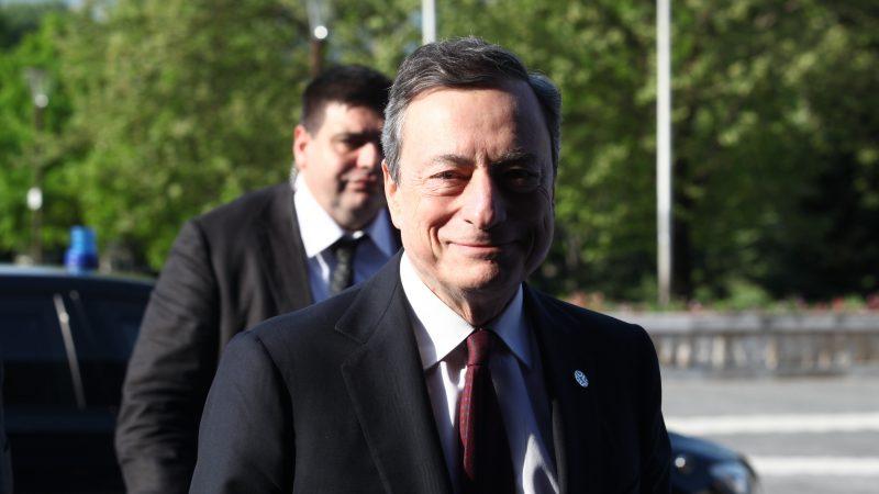 Mario Draghi, premier, Włochy