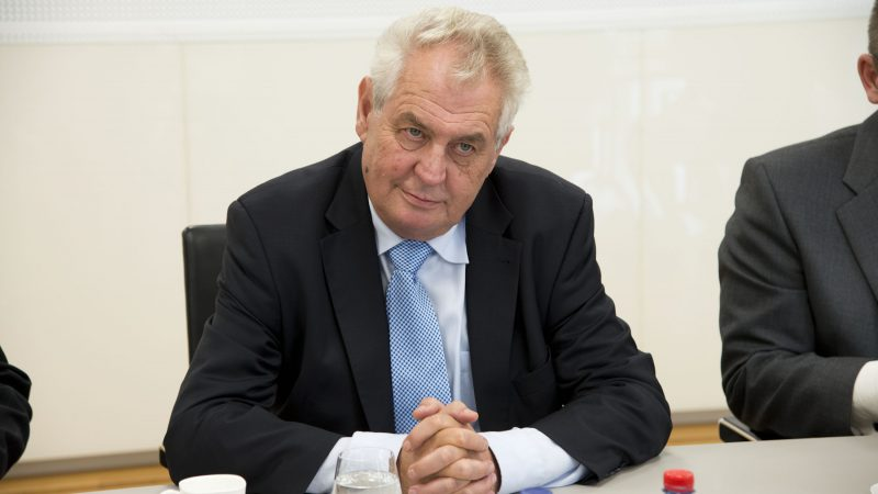 Miloš Zeman, Czechy, prezydent