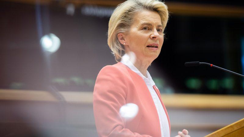 Ursula von der Leyen, Komisja Europejska, KE, przewodnicząca, UE