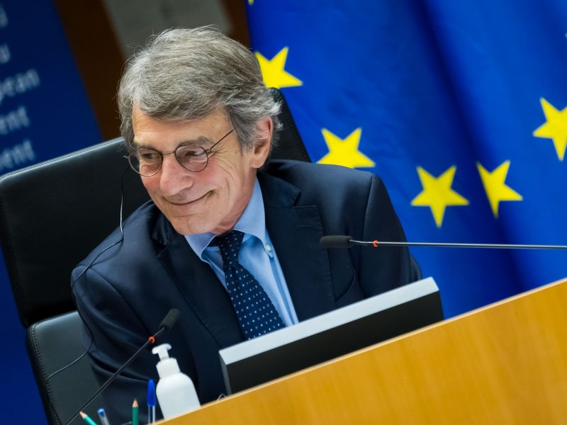 David Sassoli, PE, Parlament Europejski, UE