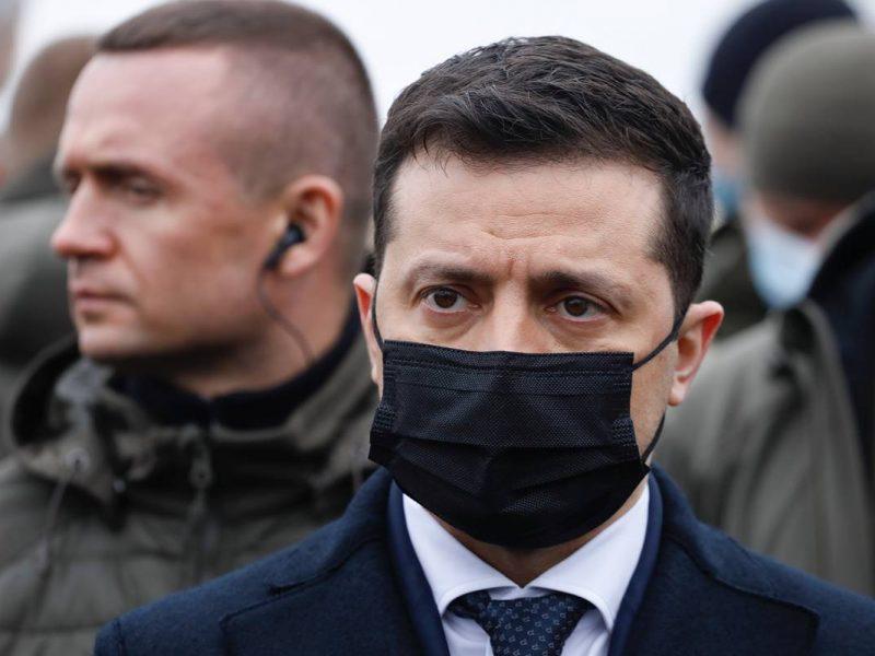 Wołodymyr Zełenski, prezydent, Ukraina