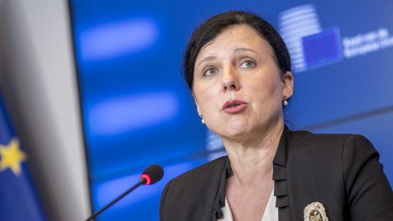 Věra Jourová, KE, Komisja Europejska