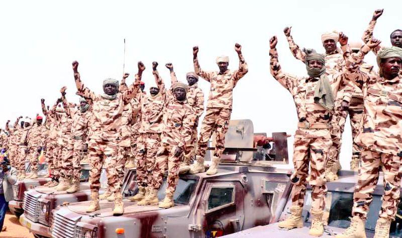 Armia przejęła władzę w Czadzie po śmierci dotychczasowego prezydenta w wyniku walk z rebeliantami, źródło: Facebook/Idriss Deby Itno (@PresidentIdrissDeby)