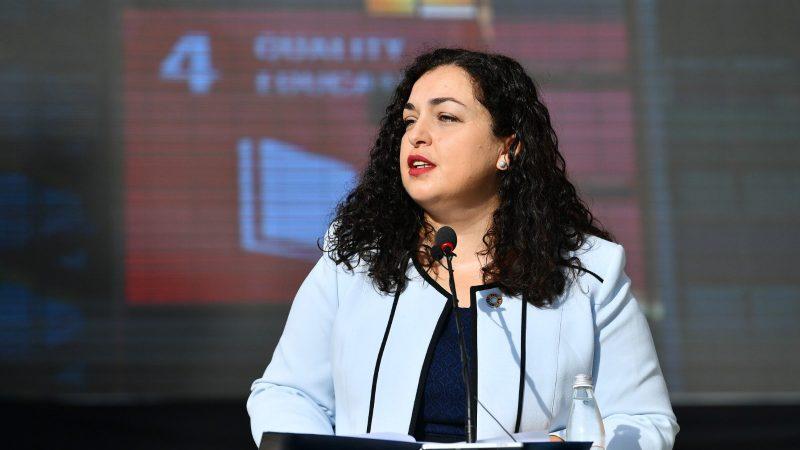 VjosaOsmani, Kosowo, Bałkany, Bałkany Zachodnie, Thaci albania, Serbia, prezydent, Unia Europejska
