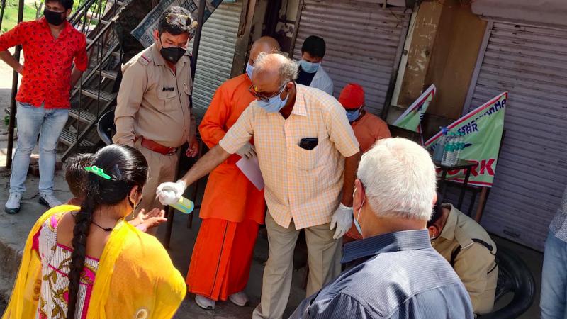 Epidemia COVID-19 w Indiach jest coraz poważniejsza, źródło: Flickr/Ramakrishna Math and Ramakrishna Mission Belur Math (Public Domain Mark 1.0)