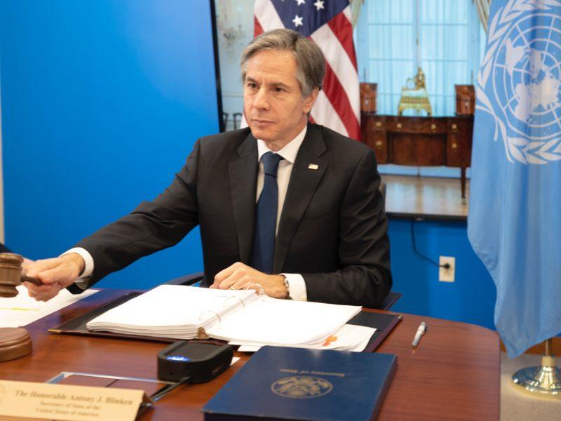 Antony Blinken, USA, Stany Zjednoczone, sekretarz stanu