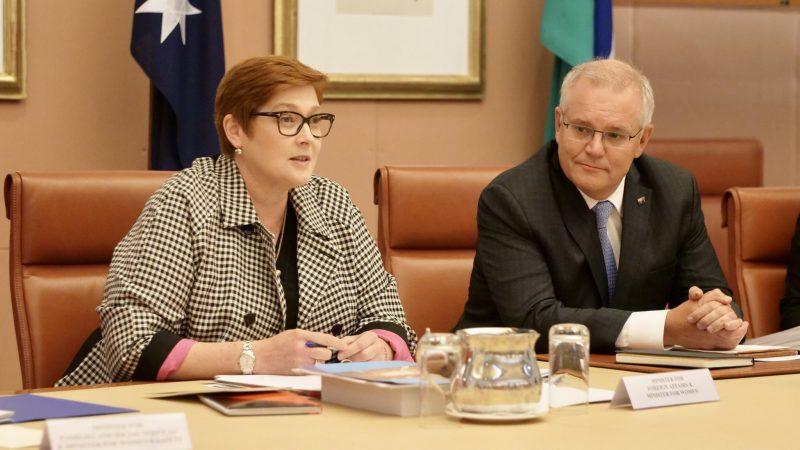 australia-scott-morrison-molestwowanie-seksualne-dyskryminacja-brittany-higgins