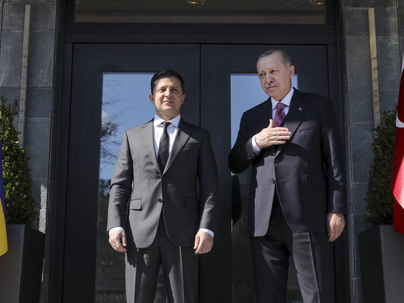 Wołodymyr Zełenski, Recep Tayyip Erdogan, Ukraina, Turcja, prezydent