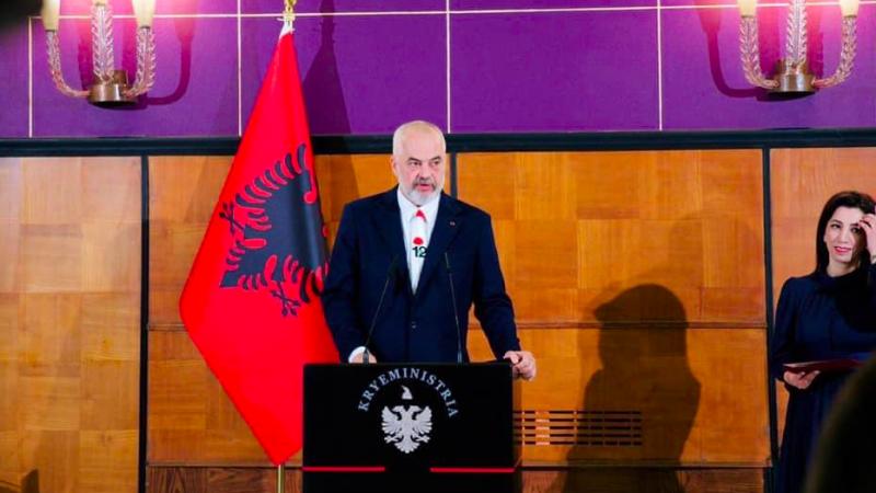 Premier Albanii Edi Rama, źródło: Facebook/Edi Rama (@edirama.al)
