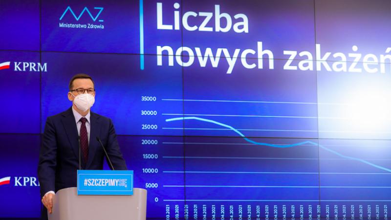 Premier Mateusz Morawiecki, źródło: KPRM, fot. Krystian Maj