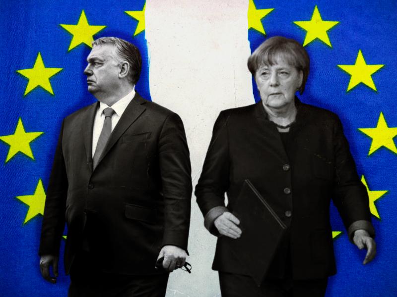 merkel, unia europejska, ue, Orban, Macron, pandemia, szczepionka, fundusz odbudowy, USA, Chiny, Rosja, geopolityka, nacjonalizm,