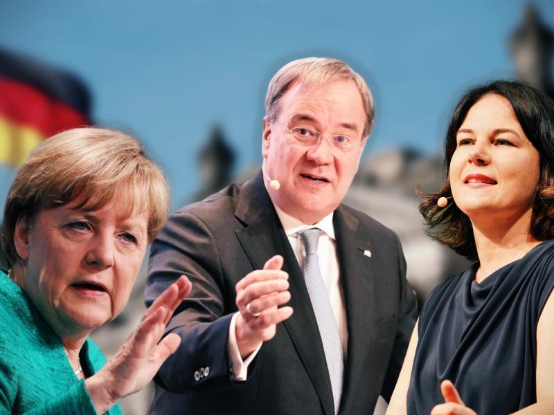 Niemcy, Bundestag, Merkel, Nord Stream 2, NATO, Rosja, Laschet, Baerbock , CDU, Zieloni, klimat, Polska, Morawiecki, PiS, praworządność, unia europejska