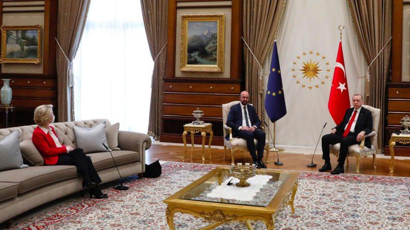 Ursula Von der Leyen, Turcja, Erdogan, sofagate