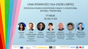Unia Równości dla osób LGBTIQ. Strategia Komisji Europejskiej walki z homofobią, bifobią i transfobią