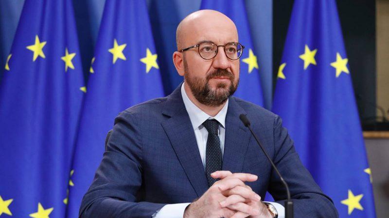 Rada Europejska, Charles Michel, RE, Unia Europejska, szczyt