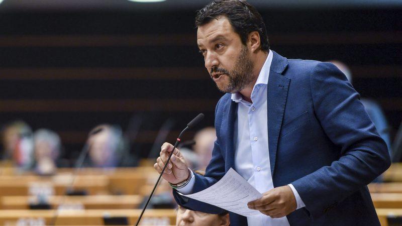 Włochy, Polska, Wegry, Unia Europejska, Parlament Europejski, Fidesz, PiS, Liga, Kaczynski, Orban