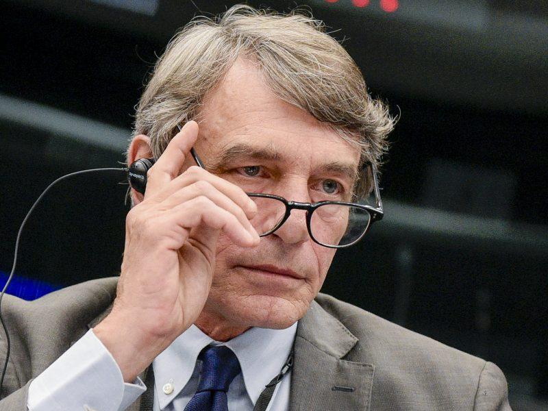 David Sassoli, Parlament Europejski, PE, przewodniczący
