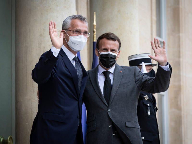NATO, Francja, Jens Stoltenberg, Emmanuel Macron