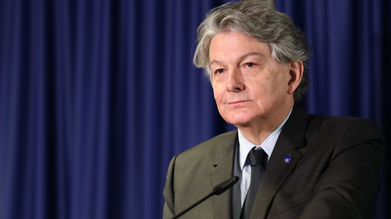 Thierry Breton, UE, KE, Komisja Europejska