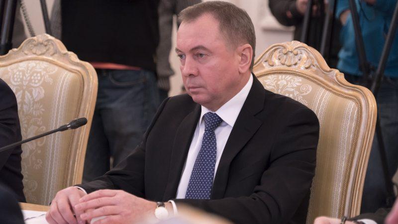 Minister spraw zagranicznych Białorusi Uładzimir Makiej, źródło: Flickr/МИД России (CC BY-NC-SA 2.0)