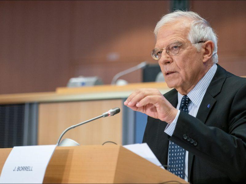 Josep Borrell wzywa wzywając do rozejmu podczas wideo konferencji ministrów spraw zagranicznych