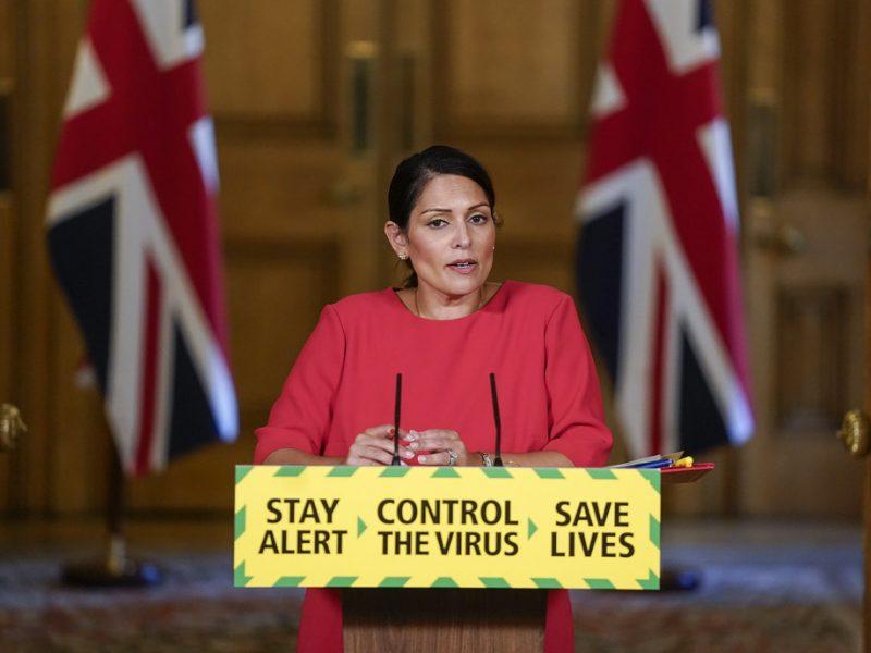 Brexit, Unia Europejska, ETA, imigranci, migracje, Wielka Brytania, Ursula von der Leyen, Priti Patel