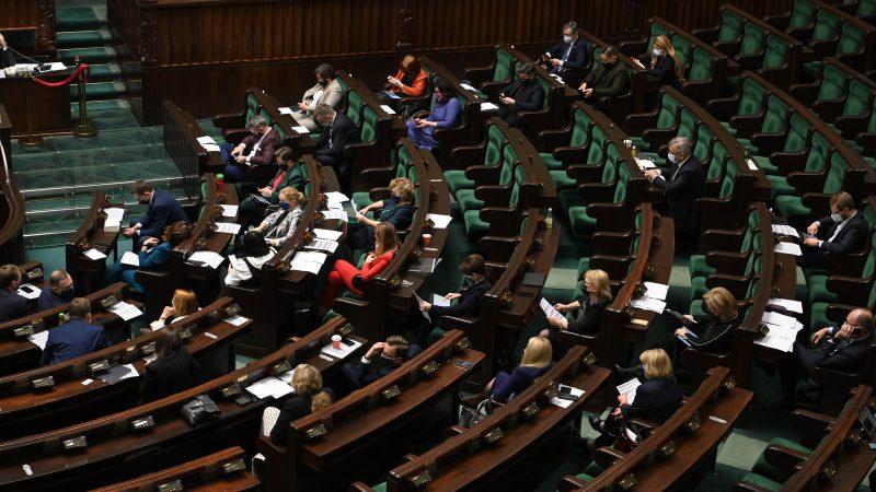 Sejm, sala plenarna