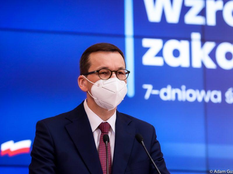 morawiecki-rzad-obostrzenia-pandemia-koronawirus-restrykcje-niedzielski