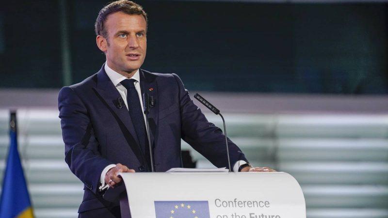 Emmanuel Macron, Francja, prezydent
