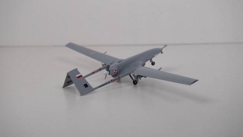 Dron bojowy Bayraktar TB2, źródło twitter Mariusz Błaszczak
