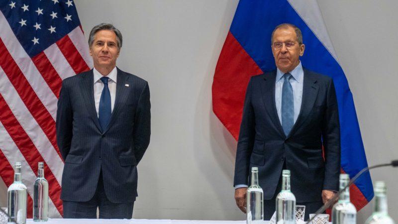USA, Rosja, Antony Blinken, Siergiej Ławrow