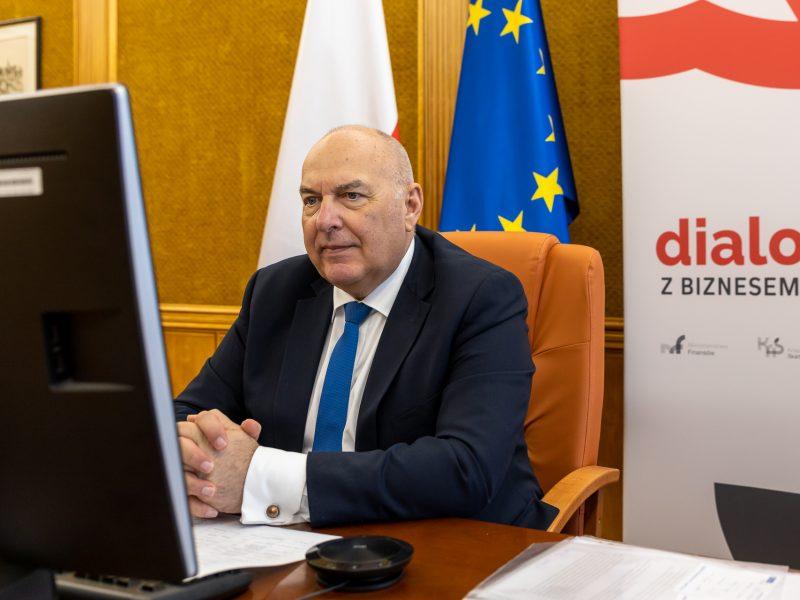 minister-finansow-tadeusz-koscinski-gospodarka-pandemia-koronawirus-restrykcje-inflacja