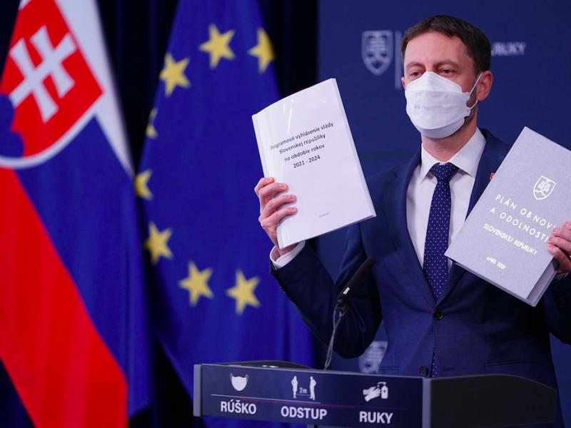 Premier Słowacji Eduard Heger, źródło: Facebook/Eduard Heger - predseda vlády SR