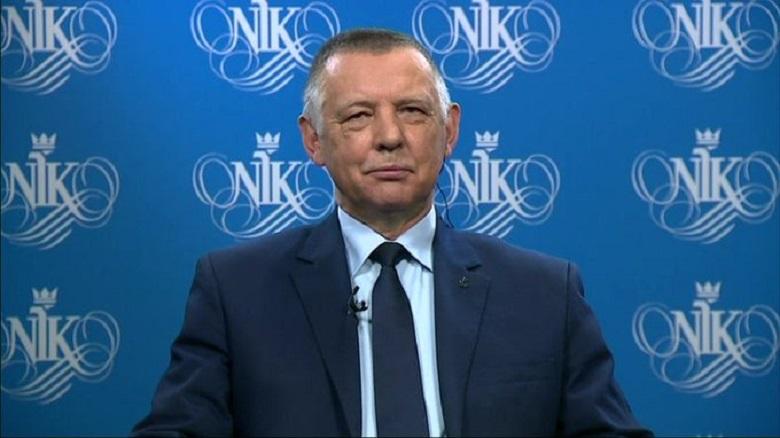 Prezes NIK Marian Banaś, źródło twitter NIK