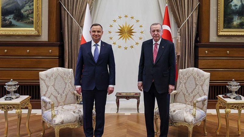 Prezydenci Polski i Turcji Andrzej Duda i Recep Tayyıp Erdoğan w Ankarze, źródło Jakub Szymczuk KPRP