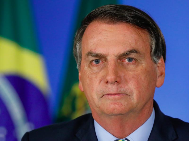 Prezydent Brazylii Jair Bolsonaro, źródło: Flickr/Palácio do Planalto, fot. Isac Nóbrega/PR (CC BY 2.0)