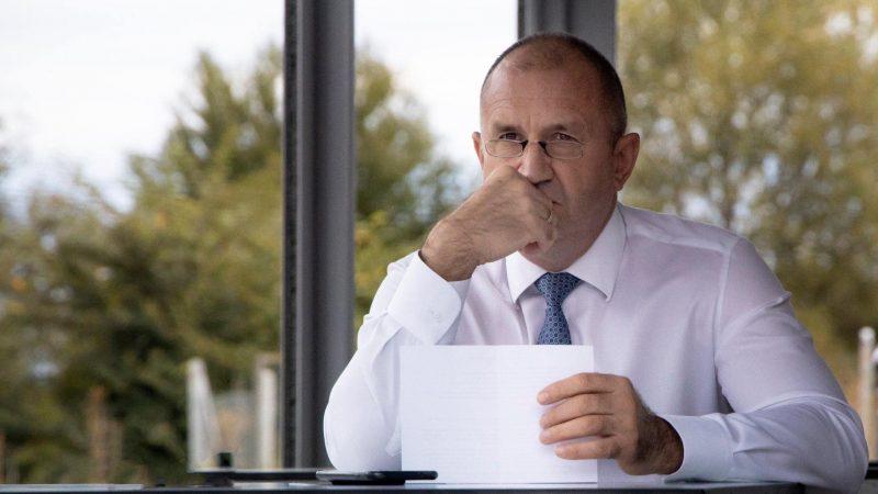 Prezydent Bułgarii Rumen Radew, źródło: Wikiepdia/Румен Радев (@President.bg )