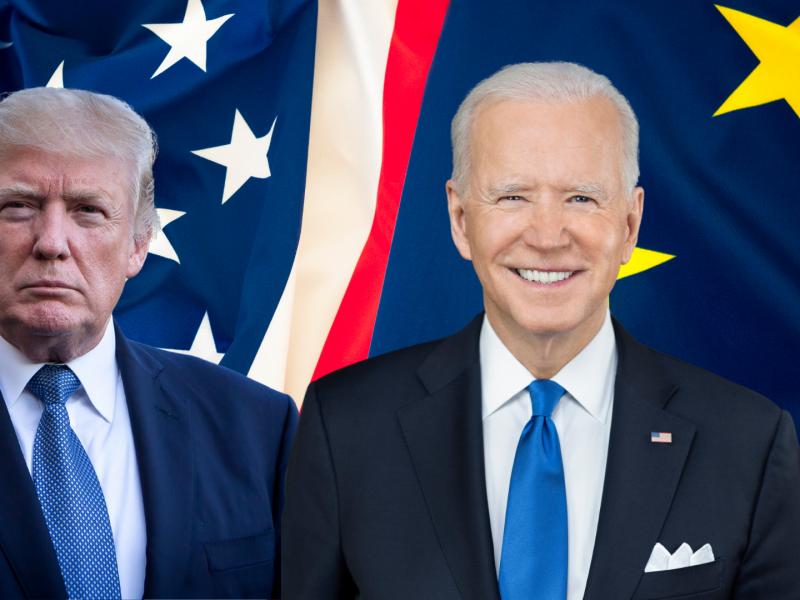 joe-biden-donald-trump-usa-stany-zjednoczone-waszyngton-prezydent-bialy-dom-europa-eu-von-der-leyen-niemcy-bruksela-unia-europejska