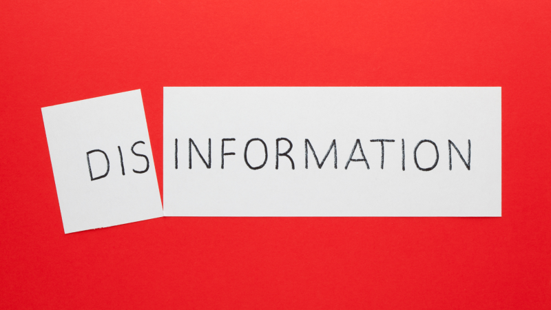 Are we in the pandemic of disinformation?